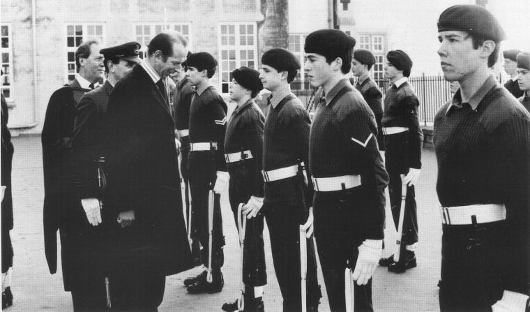 1981 CCF Guard of Honour